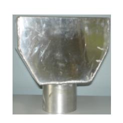 Vergaarbak standaard aluminium kleur