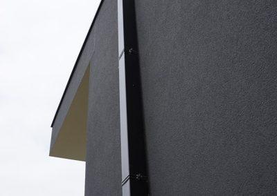 Vierkanten afvoerbuis - Alustar - aluminium