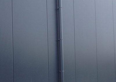 Ronde afvoerbuis in aluminium - dunwandig