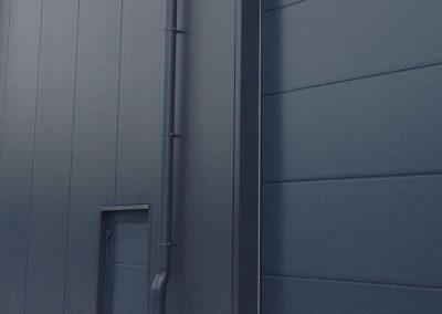 Afvoerbuis - industrieel project - kleur op maat