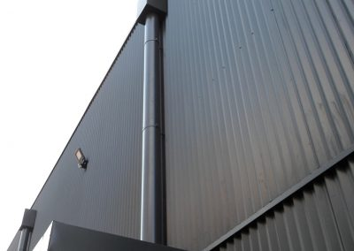 Aluminium afvoerbuis - kleuren op maat - Alustar - West-Vlaanderen