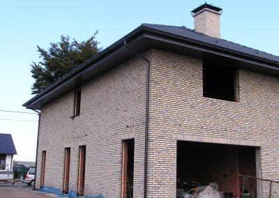 Aluminium goot en regenpijp donker grijs  naadloos Alustar West-Vlaanderen