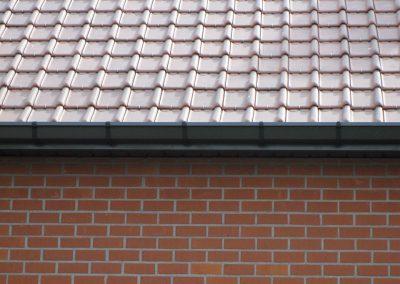 Aluminium zwarte dakgoot - Oost-Vlaanderen - alustar