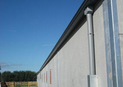 Alustar Zottegem - Oost-Vlaanderen - aluminium dakgoten en afvoerbuizen - vergaarbak