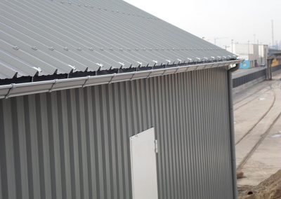 Dakgoot voor industrie - aluminium - naadloos - Alustar