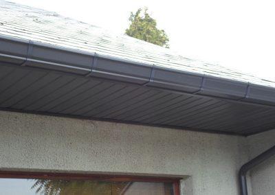 Gouttières en aluminium - renovation - Wallonie - Alustar