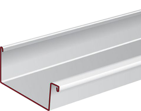 Profileermachine voor aluminium bakgoten