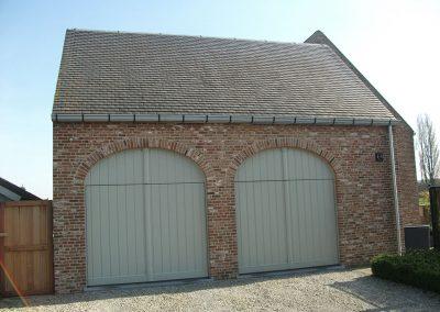 Klassieke aluminium dakgoot en regenpijp - woning pastorijstijl - West-Vlaanderen - Alustar