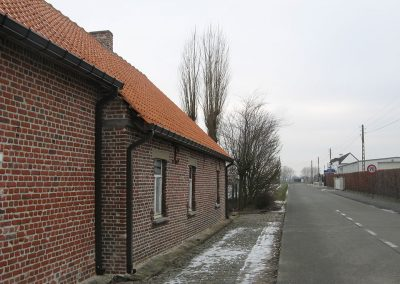Renovatie dakgoot in naadloos aluminium Oost-Vlaanderen Alustar