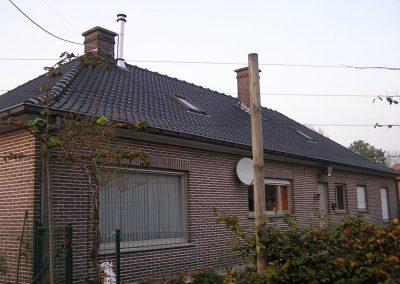 Renovatie dakgoten vervangen door aluminium dakgoten Maldegem Alustar voor