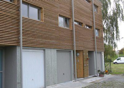 Tuyaux de descentes en aluminium - Ghlin - Hainaut