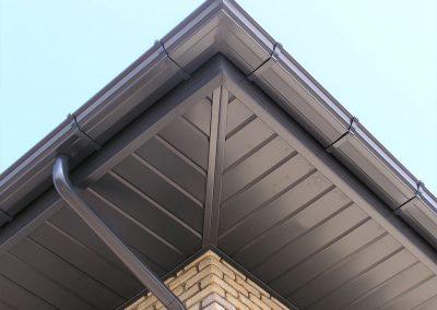 Gouttières, avant-toits et tuyaux d'évacuation en aluminium - Alustar
