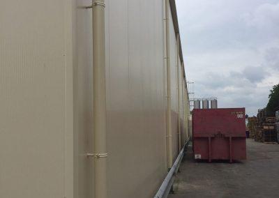 Gepoederlakte dunwandige RWA - Alustar - aluminium