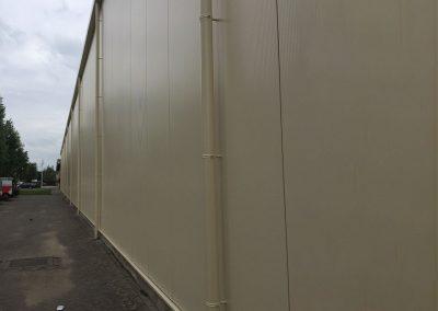 Gepoederlakte dunwanige afvoeren D100 - aluminium - Alustar