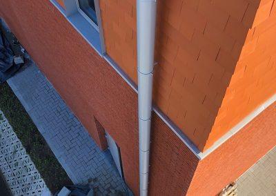 Hemelwaterafvoer D160 - aluminium - dikwandig - Alustar